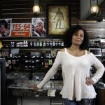 America's 1st African American pot shop owner Wanda James open's up.
